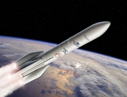 Illustration du lanceur Ariane 6.