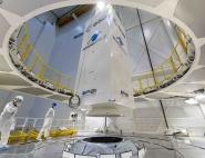 Hissage et intégration de la maquette USAT lors des essais MDPH.
