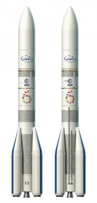 Ariane 6 : les 2 versions côte à côte