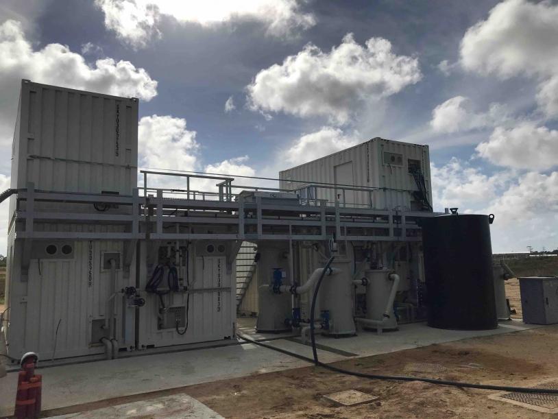 Installation de traitement d'eau